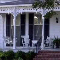 Southern front porch, Columbus, GA, Колумбус