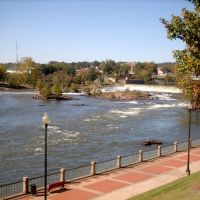 Chattahouchee RiverWalk, Columbus, GA, Колумбус