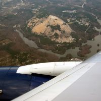 Stone Mountain, Anflug Atlanta, Лукоут Моунтаин