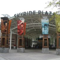 Skyride Plaza, Stone Mountain Park., Лукоут Моунтаин