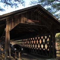 Covered Bridge, Stone Mountain Park, Georgia, Лукоут Моунтаин