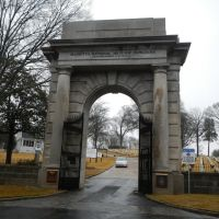 Marietta National Cemetery.  Entrance, Мариэтта