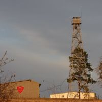 Georgia Forestry Commissions Fire tower., Моултри