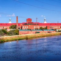 Looking across the canal to Enterprise Mill, Огаста