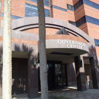 Dougherty Government Center (East entrance), Олбани