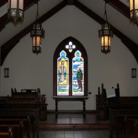 Chapel Interior at the Mighty 8th Museum, Pooler, GA, Пулер