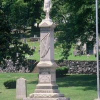 Statue of Gen. Nathan Bedford Forrest, C. S. A., Myrtle Hill Cemetery, Ром