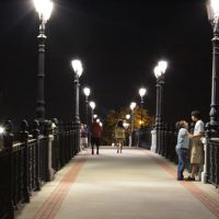 Heritage Park Pedestrian Bridge, Ром