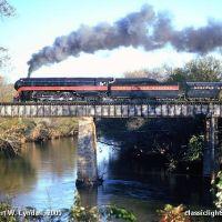 N&W 611 - Etowah River - Rome, GA, Ром