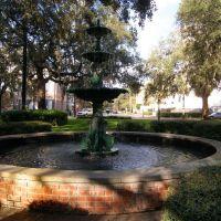Lafayette Fountain, Саванна