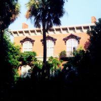 the house, Mercer house, Monterey Square, Savannah (3-1997), Саванна