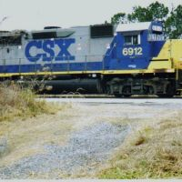 CSX 6912 at Thomasville Ga, Томасвилл