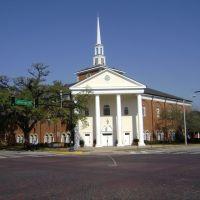 First Baptist Church (South corner), Томасвилл