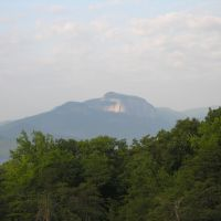 View of Table Rock from Bald Rock Heritage Preserve, Франклин