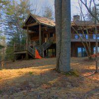 Abandoned Log Cabin, Франклин