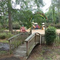 Macy-Brance Memorial Playground in Geo. M. Dame Memorial Park, Homerville, Хомервилл