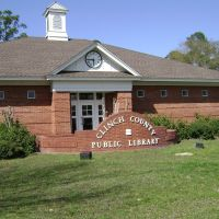 Clinch County Public Library, Хомервилл