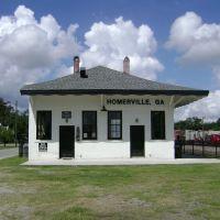 North side of Homerville Depot, Хомервилл