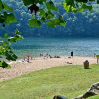 Sutton Lake Swim Area, Sutton, WV, Барбурсвилл