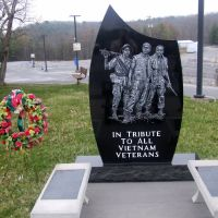 Vietnam Veterans War Memorial,Beckley Veterans Affairs Medical Center, Beckley, WV 25801, USA, Бекли