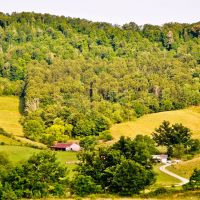 View from Days Hotel in Flatwoods, WV, Вилинг