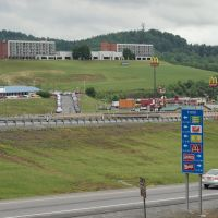 South Bound off ramp 3, Flatwoods WV by Andrew Smith, Вилинг