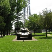 WWII tank at Quincy Hill Park, Паркерсбург