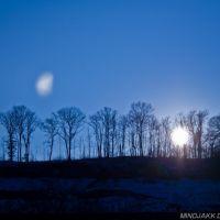 Boreman Hill Winter Sunset, Паркерсбург