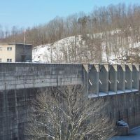 Photo of the Backside of Sutton Dam, Файрмонт