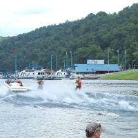 Chippewa Water Ski Show Team at the Sutton Lake 3, Файрмонт