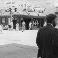 Capitol and Quarrier St, Charleston, WV, Circa 1970s, Чарльстон