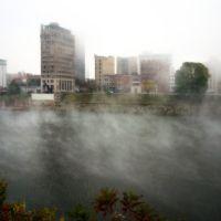 Downtown Charleston In Fog, Чарльстон
