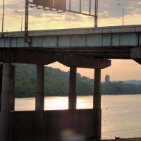 I-64 Bridge before Sunset, Charleston, WV, Чарльстон