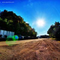 Slack Street Recycling Late Afternoon, Charleston, WV, Чарльстон