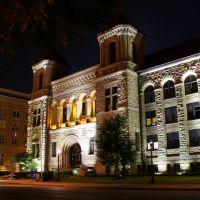 Kanawha County Courthouse at Night, Чарльстон