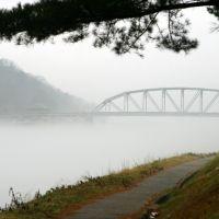 Kanawha River fog in January, Чарльстон
