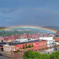 Double Rainbow over Charleston, WV, Чарльстон