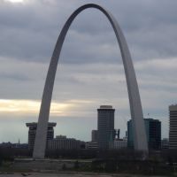 Gateway Arch From Eads Bridge, Сент-Луис