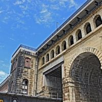 Eads Bridge (Built 1869-74) - Stone Arches, Сент-Луис