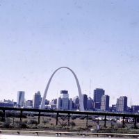 St Louis Arch Oct 1977, Сент-Луис