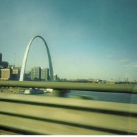 Saint Louis Arch, From Poplar Bridge, Сент-Луис