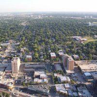 Downtown Arlington Heights Aerial Photo, Арлингтон