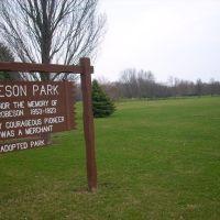Robeson Park, Champaign, Бондвилл