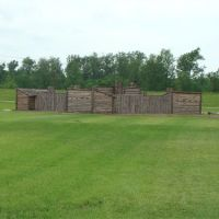 Lewis and Clark State Historic Site, Camp DuBois replica, Вуд Ривер
