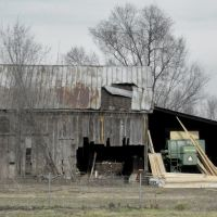 Old Barn on the western edge of Edwardsville, IL, Вуд Ривер