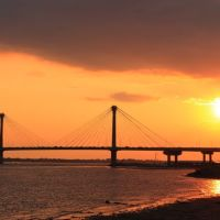 Clark Bridge Sundown, Вуд Ривер
