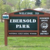 Ebersold Park Sign, Даунерс-Гров