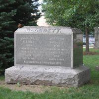Blodgett family monument, Даунерс-Гров