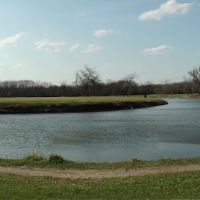 Big Bend Lake - Panorama, Дес-Плайнс
