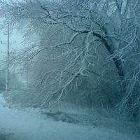Bad winter storm in February 2012., Дес-Плайнс